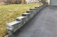Retaining Walls and Flowerbeds